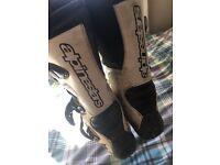 Alpinestar motorcross boots size 10-11