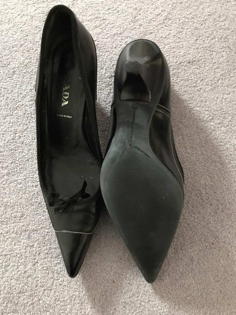 Prada heels 38.5
