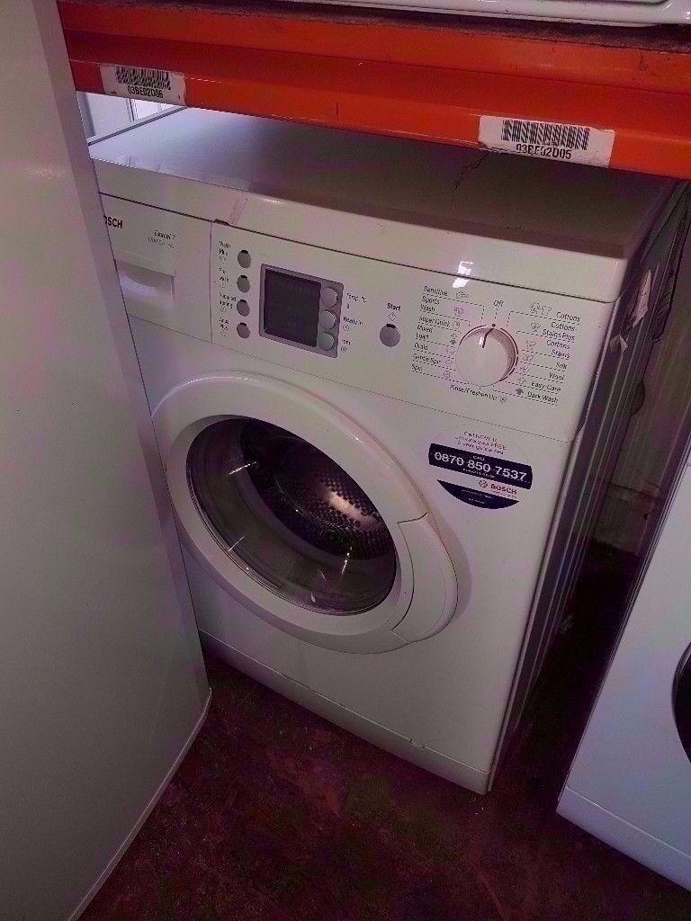 Bosch Exxcel 7 Washing Machine Digital Screen
