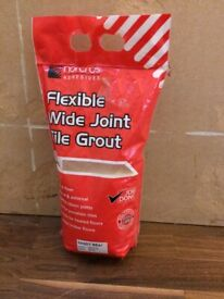 Grout Flexible Wide Joint Tile Grout 5kg
