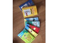 Hooey Higgins x5 & Diary of a Wimpy Kid x2