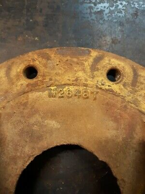 John Deere Tractor Mt 40 420 430 1010 Rear Wheel Hub M2648t