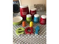 Next kitchen storage/canisters