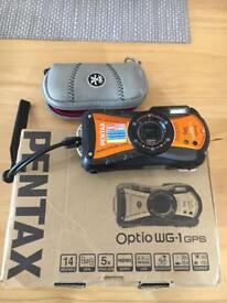 Pentax WG-1 waterproof camera