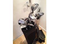 Full set of Howson Golf Clubs & Bag