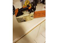 Stihl ms 020t topping saw