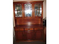Younger Cherrywood Display Cabinet