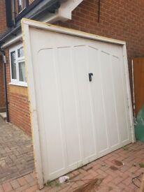 Cardale Euro Garage Door - In working order with external lock and key