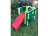little Tikes slide and gym