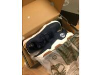 Timberland Earth rally Oxford navy knit size 5