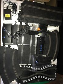 Large bundle of Scalextric track