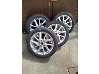 Mazda5 17 inch Alloy Wheels x 4
