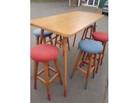Lovely high funky Office meeting table , Breakfast table ,, never been used