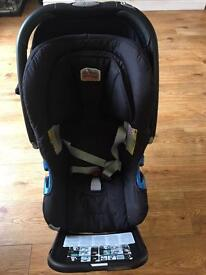 Britex car seat with ISOfix base group 0