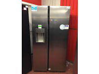 *Beko ASGN542X American Fridge Freezer Frost Free Non Plumbed Stainless Steel #147282