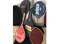 Mixed rackets