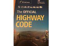 Highway Code & traffic sighs 2 books