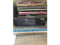 Mixed vinyl box (Job lot)
