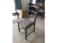 Vintage Wooden Dining Chairs x 4 - FREE for collection