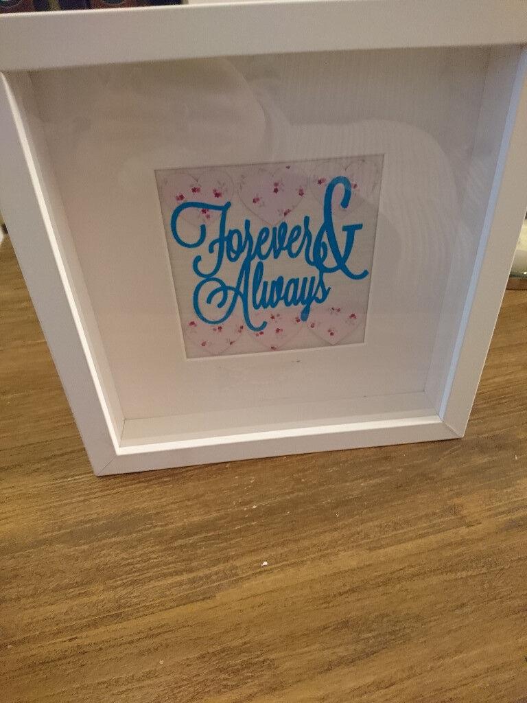 Forever Always Photo Frame In Lenzie Glasgow Gumtree