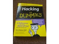 Hacking For Dummies For Dummies Computers book only £3