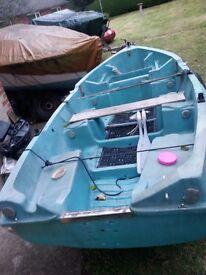 Jeanneau 4m Tender Fishing boat