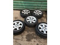 Genuine Land Rover Freelander set of 5 alloy wheels