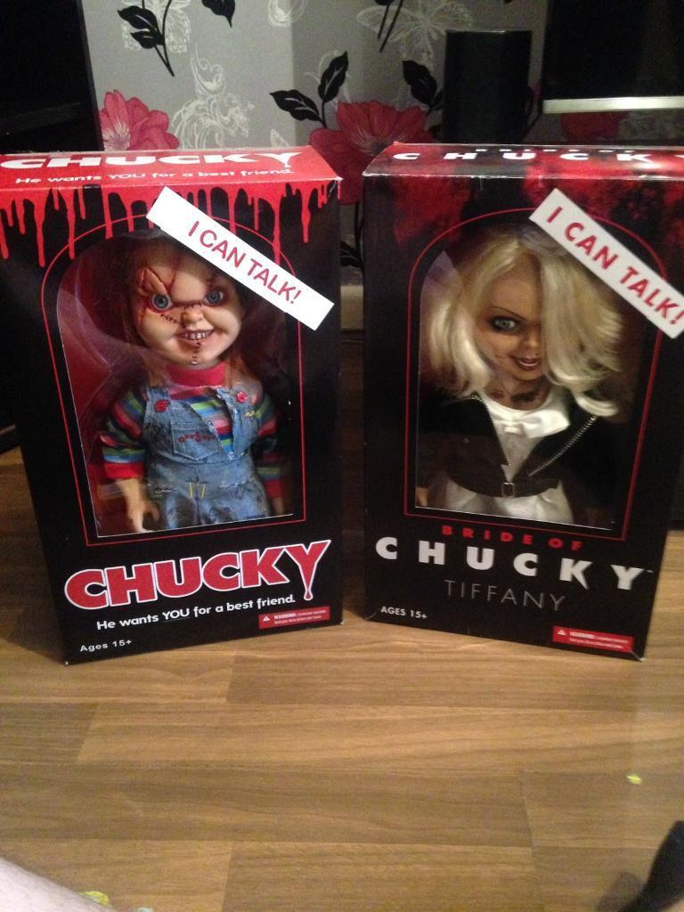 chucky and tiffany dolls in horsforth west yorkshire gumtree