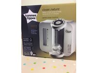 Brand new,unopened Tommee Tippee Closer To Nature Perfect Prep machine