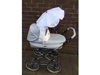 Babystyle prestige pram/pushchair/car seat