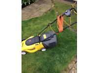 Garden master GME 15W electric lawn mower, £30