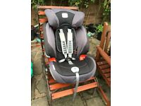 Britain evolva car seat