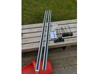 Thule roof bars and feet plus fitting kit