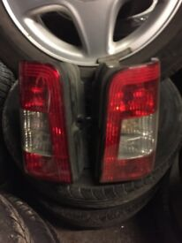CITROEN BERLINGO REAR LIGHTS
