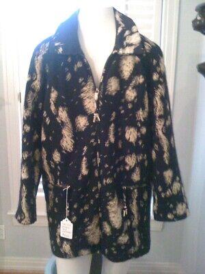 Vintage Gianfranco Ferre cashmere knit bomber jacket