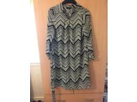 Ladies size 10 long top