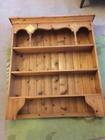 Antique Pine Welsh Dresser top