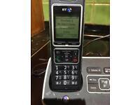 BT 6500 digital cordless telephone answering machine