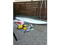 Browning Windsurfing board
