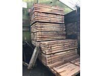 Oak Sleepers Untreated 2.4m x 200mm x100mm