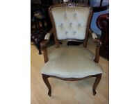 Lovely french still armchair. excellent condition