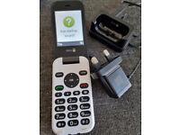 Doro 6620 Unlocked 3G Clamshell Big Button Mobile Phone Unlocked