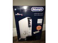 DeLonghi Dragon 4 Oil Filled Radiator 2KW Brand New in box, White