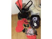 Oyster 2 travel system 2 in 1 excellent condition