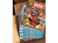 50 Marvel books perfect for resale or carboot easy profit