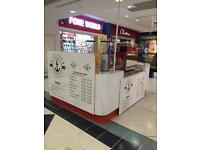 Catering kiosk