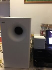 FOR SALE: BOSE ACOUSTIMASS 3 WITH PIONEER AMPLIFIER