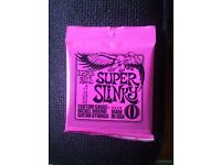 Electric Guitar Strings (Brand New) - Ernie Ball - Super Slinky 2223 Nickel Wound