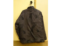 Nike Air Grey Jacket Mens XL, used with stains visible at the back right side
