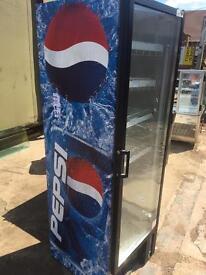PEPSI BRANDED DRINKS FRIDGE COMMERCIAL RETAIL USE CAFE RESTAURANT